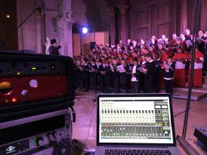 Beau concert de la Maîtrise ce week end à la cathédrale.