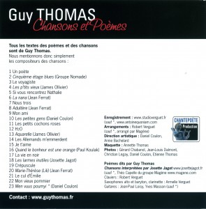 Pochette do Guy Thomas