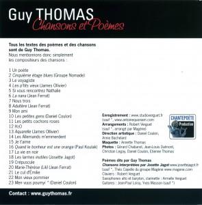 Pochette do Guy Thomas