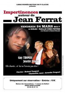 concert Saint Claude dans le Jura